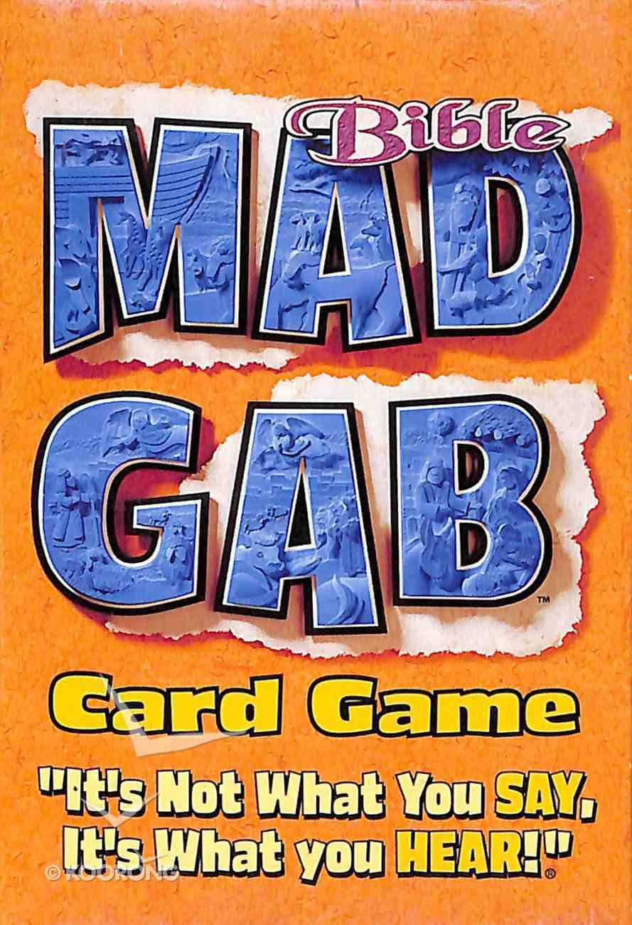 Bible Big Deal Mad Gab Card Game Game