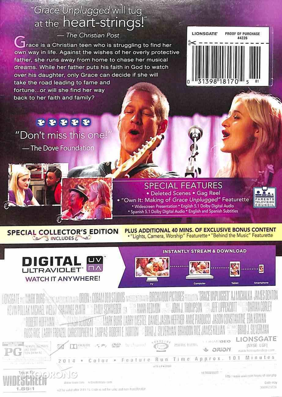 Grace Unplugged (Dvd + Uv Digital) DVD