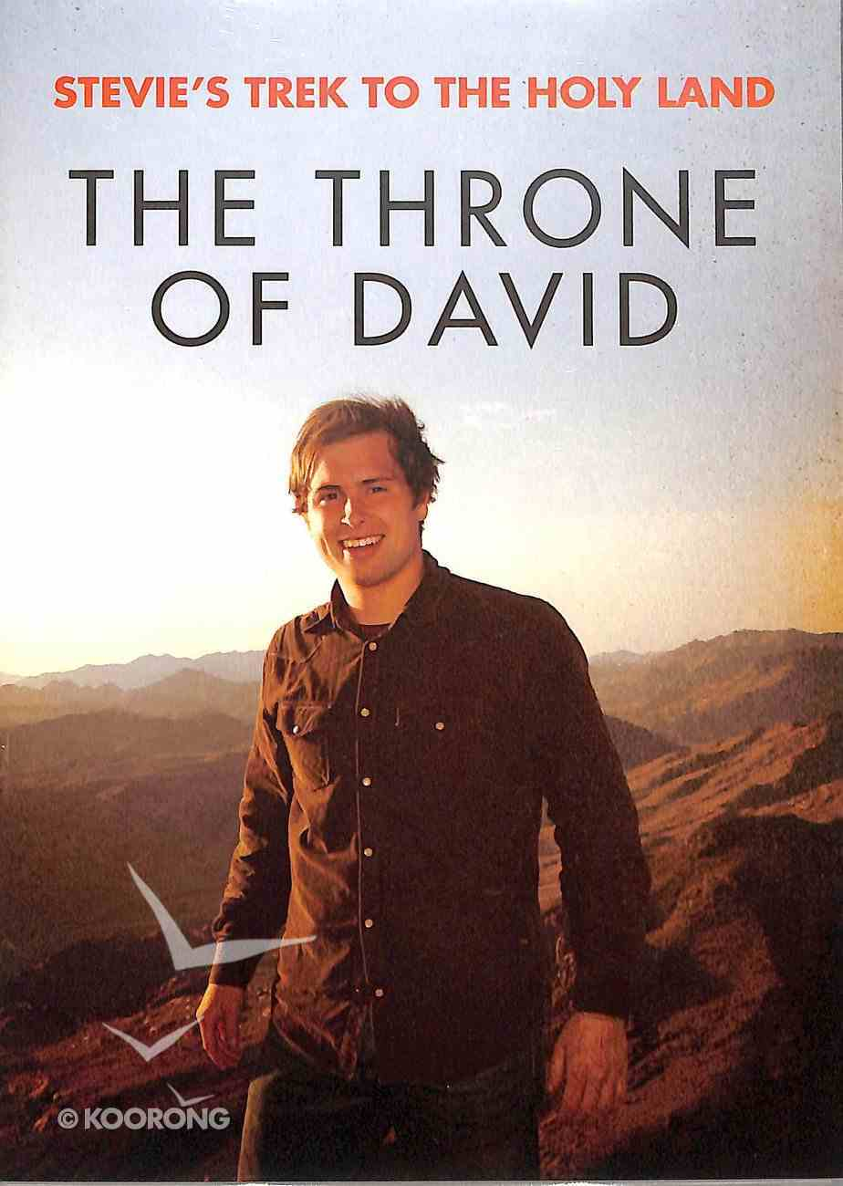 The Throne of David (Stevie's Trek 2 The Holy Lands Series) DVD