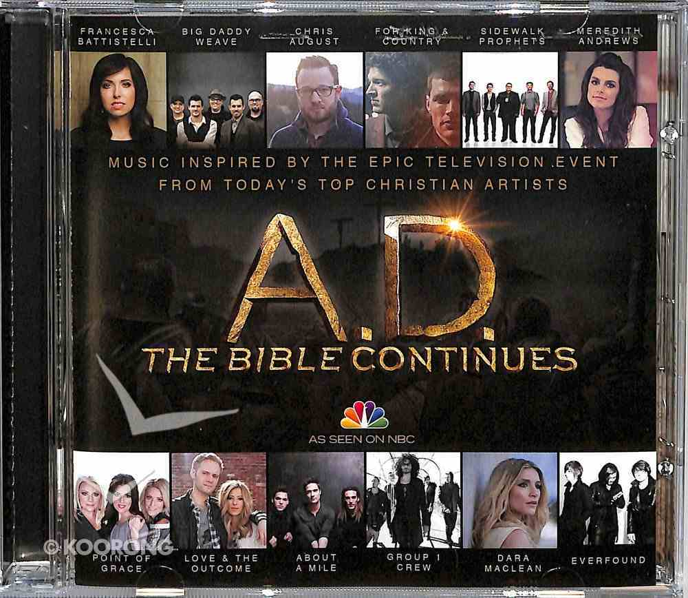 A.D.: Music Inspired By the Epic Series CD
