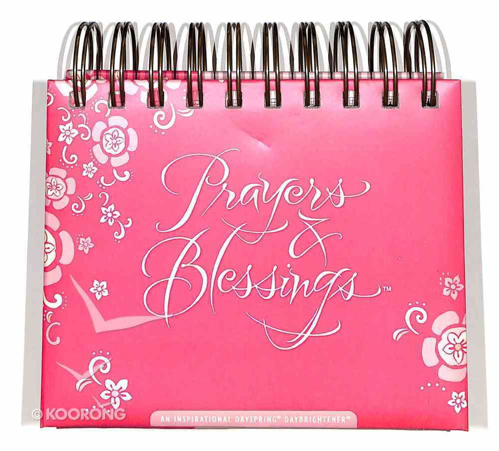 Daybrighteners: Prayers & Blessings (Padded Cover) Spiral