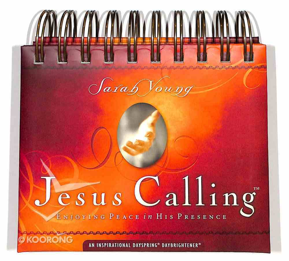Daybrighteners: Jesus Calling (Padded Cover) Spiral