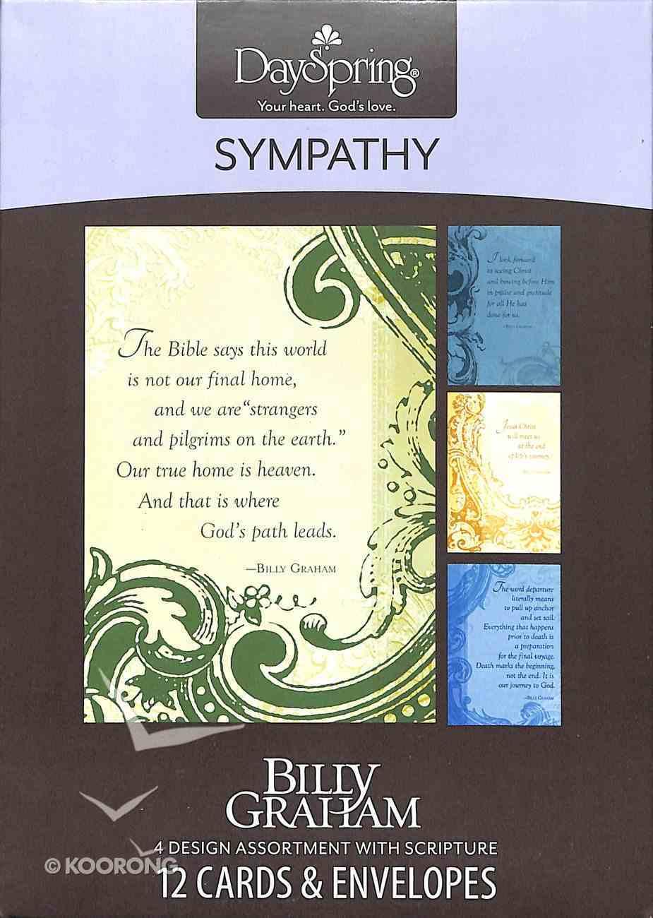 Boxed Cards Sympathy: Billy Graham Box