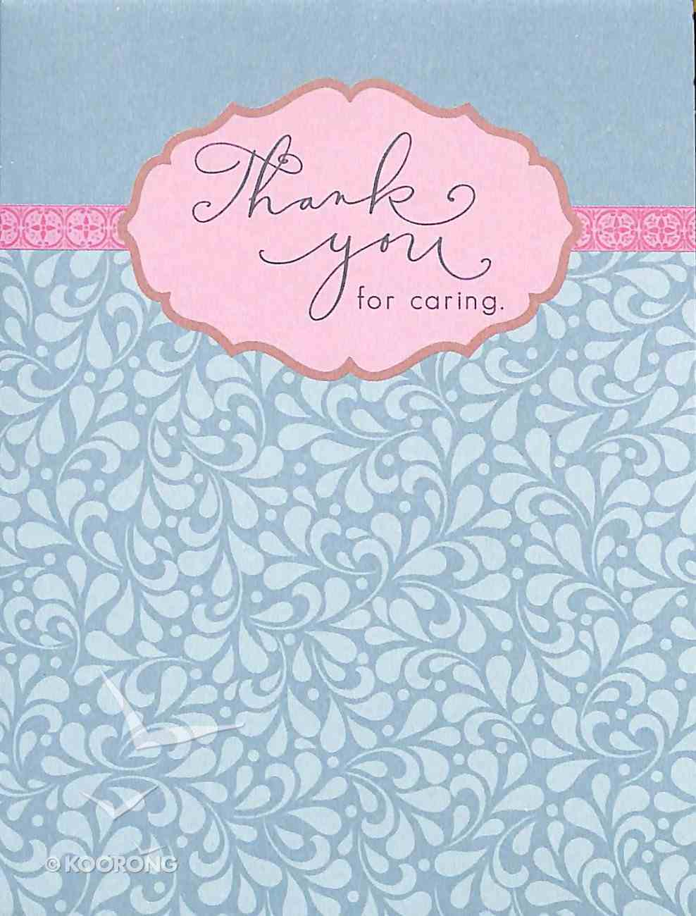 Everyday Notes: Thank You For Caring, Hebrews 6:10 Cards