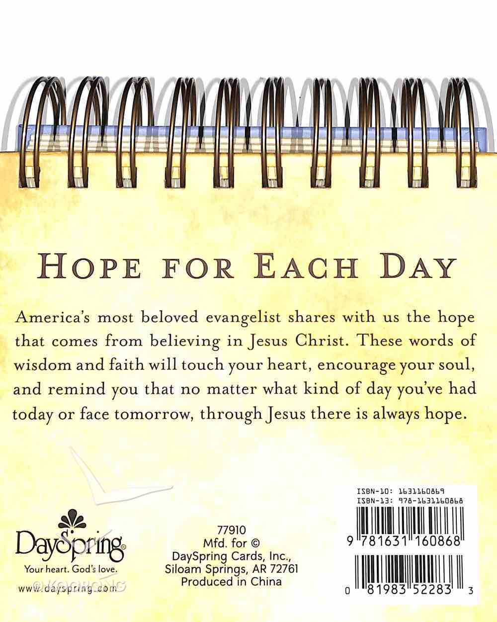 Daybrighteners: Hope For Each Day (Padded Cover) Spiral