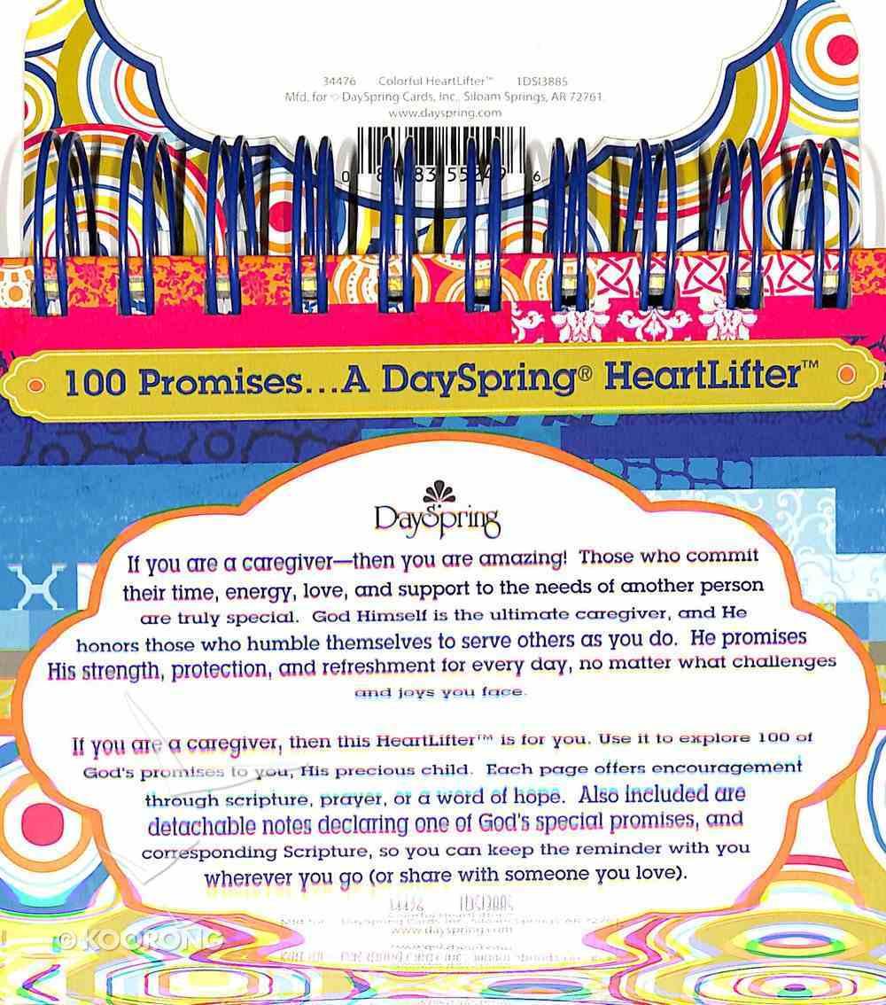 Heartlifter: 100 God's Promises For Caregivers Spiral