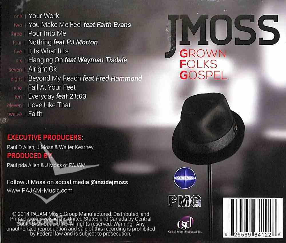 Grown Folks Gospel CD