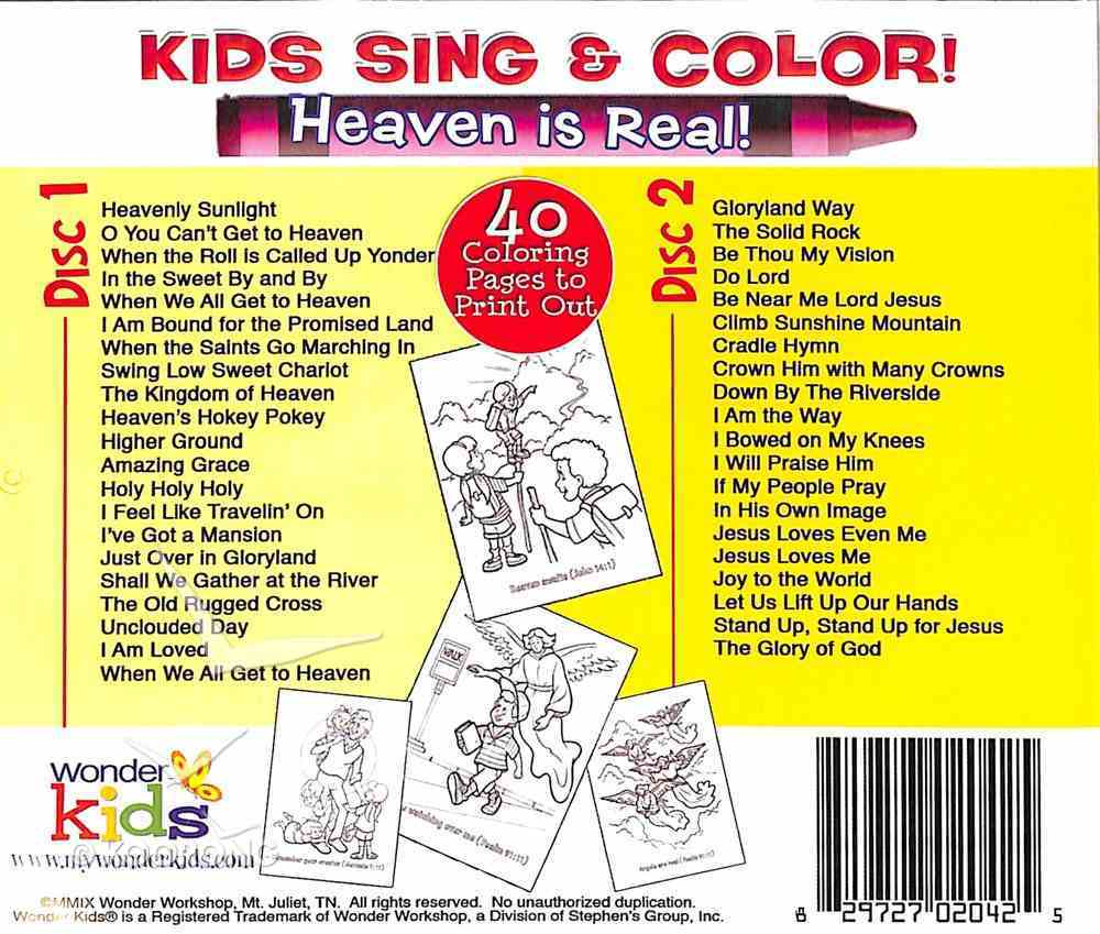 Kids Sing and Say Heaven is Real CD