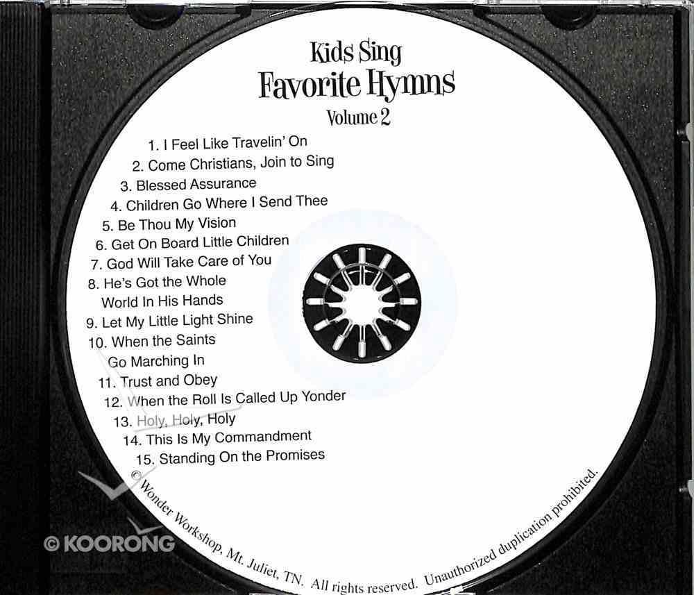 Kids Sing Favorite Hymns! Volume 2 (Kids Sing Series) CD