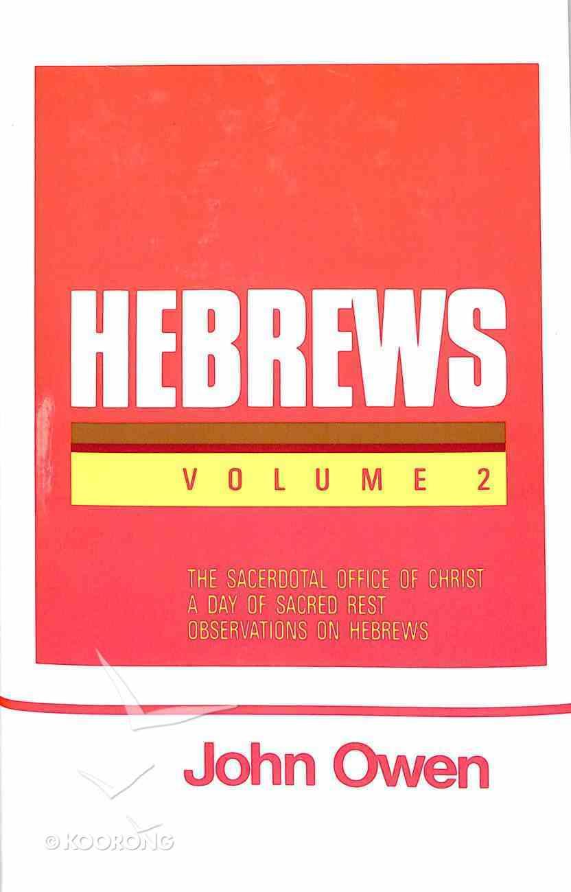 Hebrews (Vol 2) Hardback