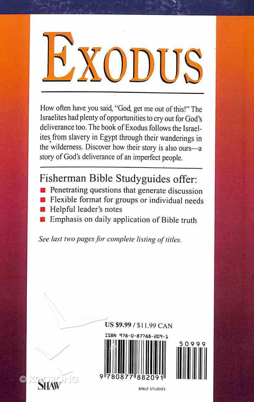 Exodus: God Our Deliverer (Fisherman Bible Studyguide Series) Paperback