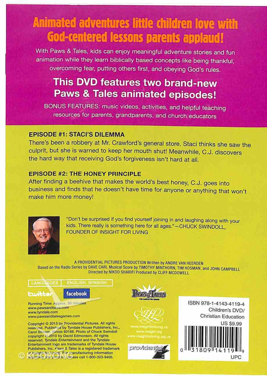 Doing What's Right - Biblical Wisdom For Kids (Paws & Tales Series) DVD