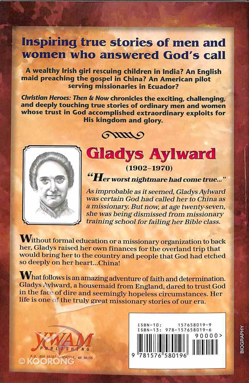 Gladys Aylward (Christian Heroes Then & Now Series) Paperback