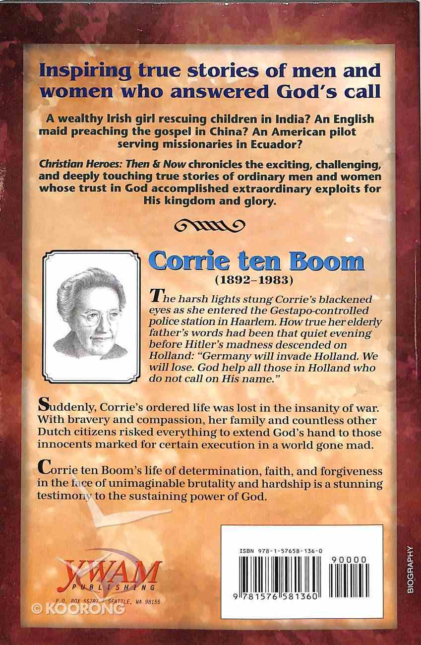 Corrie Ten Boom - Keeper of the Angels Den (Christian Heroes Then & Now Series) Paperback