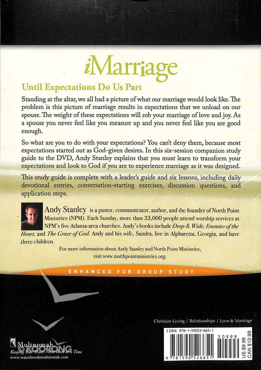Imarriage: Transforming Your Expectations (Study Guide) (North Point Resources Series) Paperback