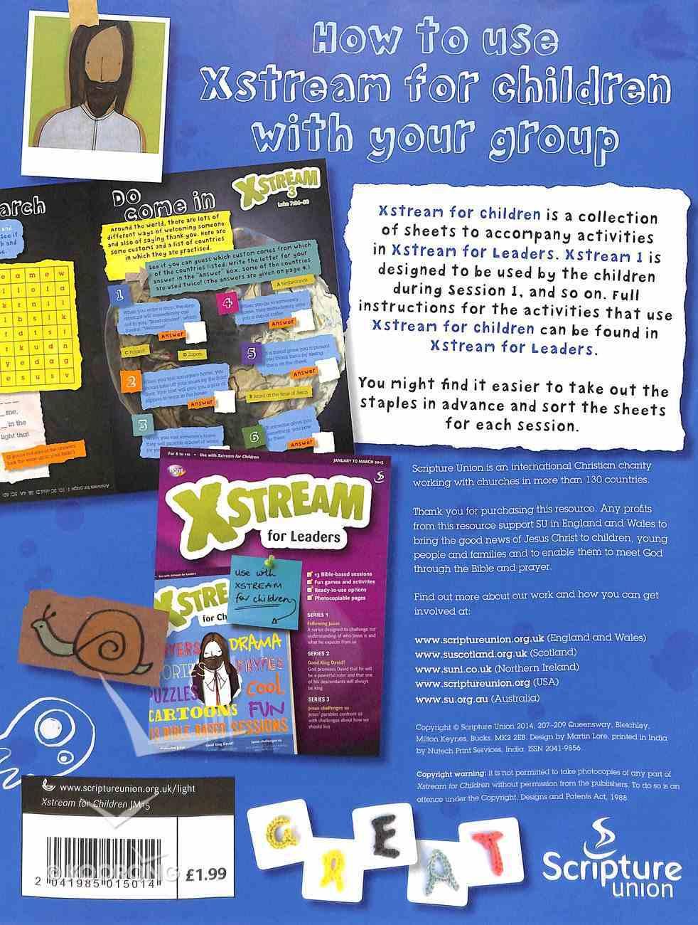 Light: Xstream 2015 #01: Jan-Mar Student's Guide (8-11 Yrs) Paperback