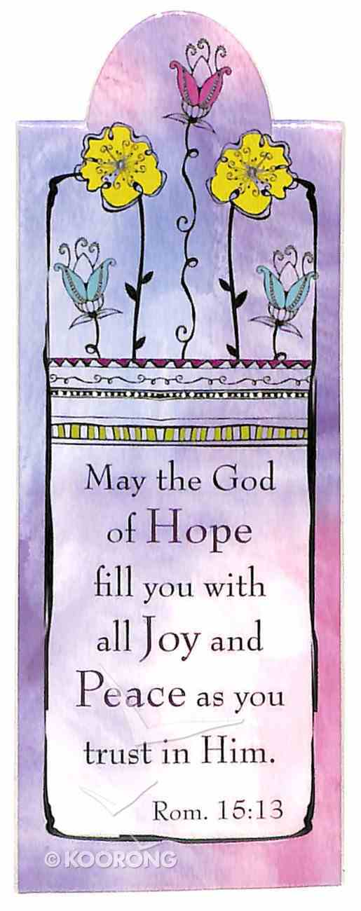 Bookmark Magnetic: May the God of Hope Fill You With Joy... Stationery
