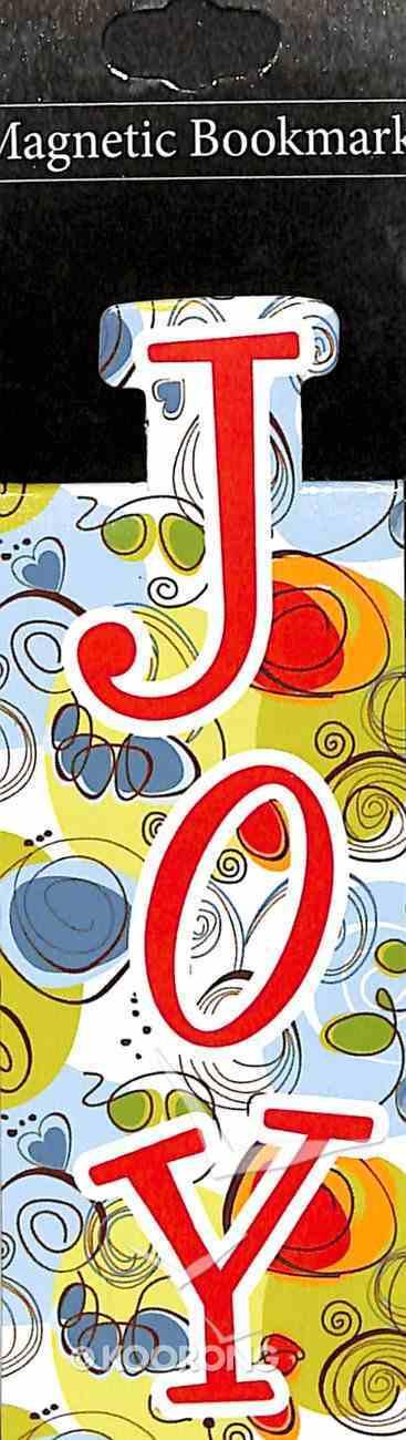 Bookmark Magnetic: Joy Stationery