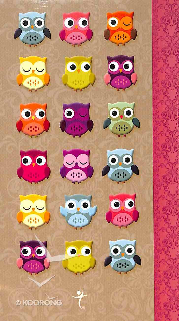 Notebook Set Owl: Wisdom For the Soul (3x Notepads Shrink Wrapped) Pack