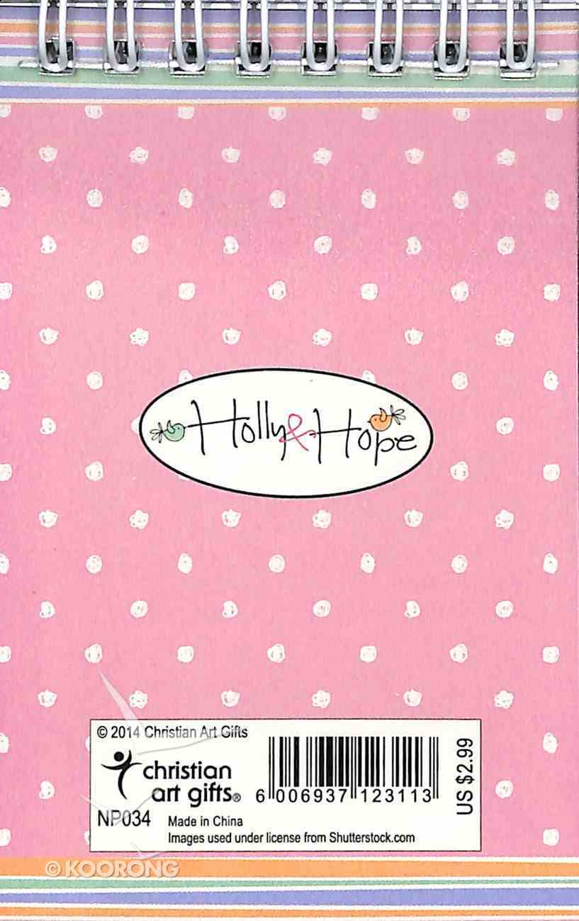 Notepad: Holly & Hope: Jesus Love Me! Spiral