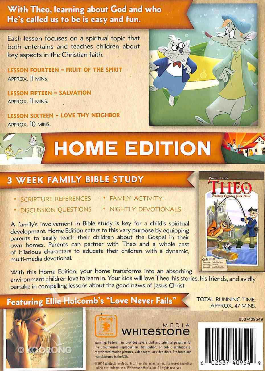 God's Desire (Home Edition) (#05 in Theo Dvd Series) DVD