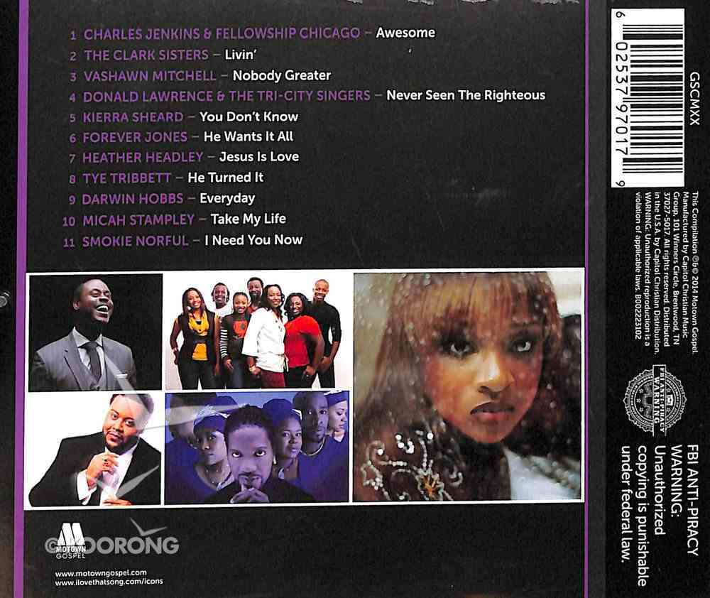 Icon Gospel CD
