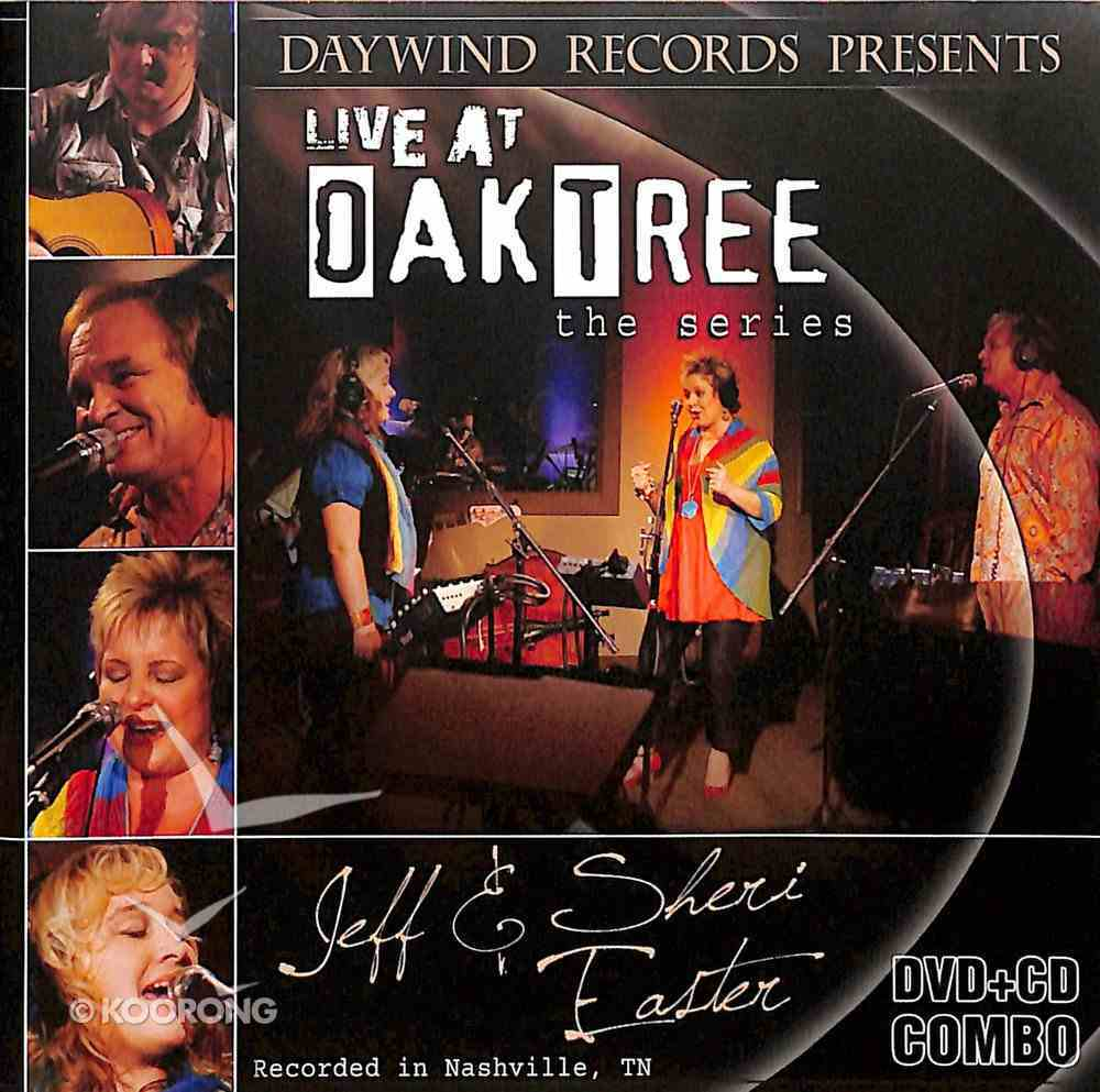 Jeff and Sheri Easter: Live At the Oak Tree CD