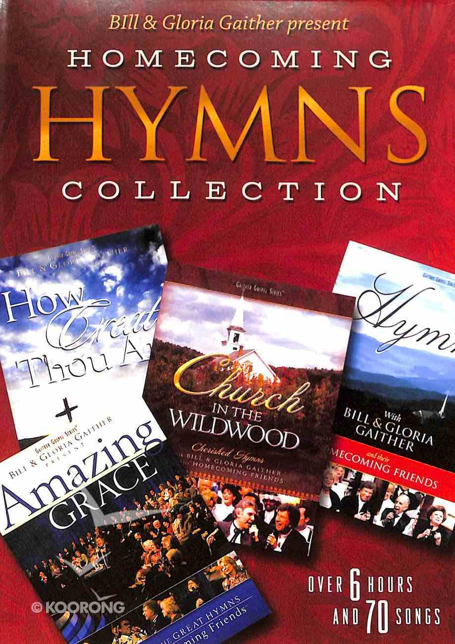 Homecoming Hymns Collection 4 DVDS - How Great Thou Art; Amazing Grace; Church in the Wi (Gaither Gospel Series) DVD
