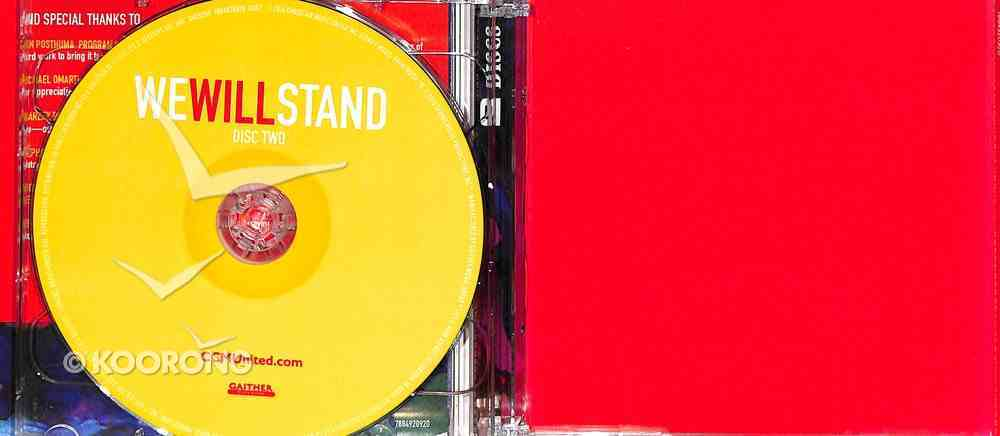 We Will Stand CD