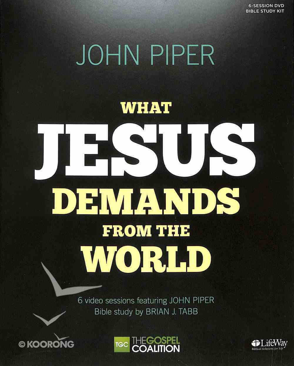 What Jesus Demands From the World (Dvd Leader Kit) DVD