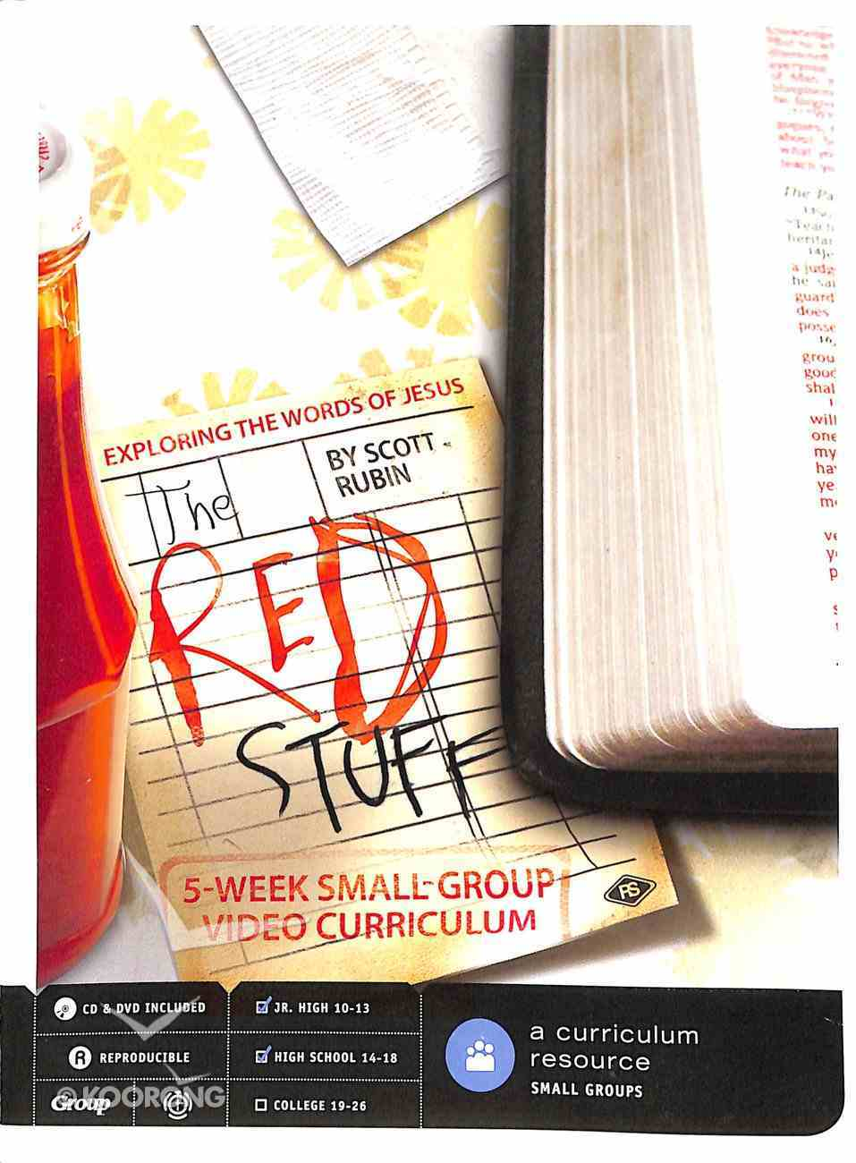 The Red Stuff: 5-Week DVD Curriculum Pack