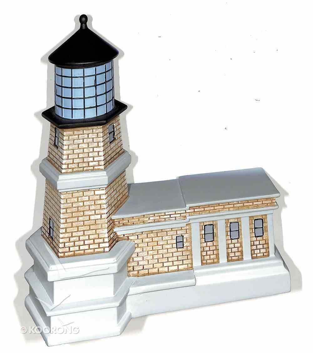 Lighthouse Moment of Faith Sculpture: The Lord is My Light (Psalm 27:1) Homeware