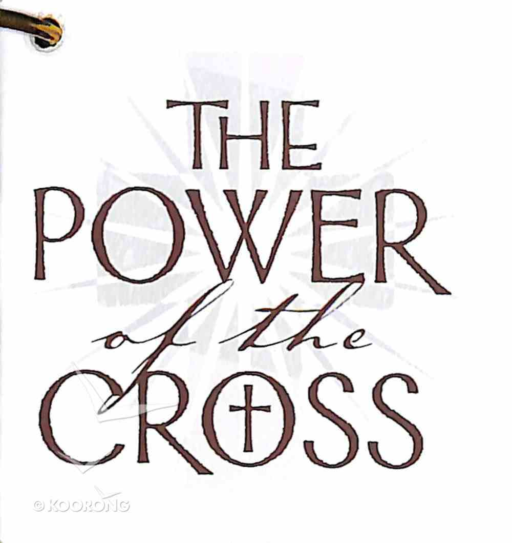 Power of the Cross Booklet