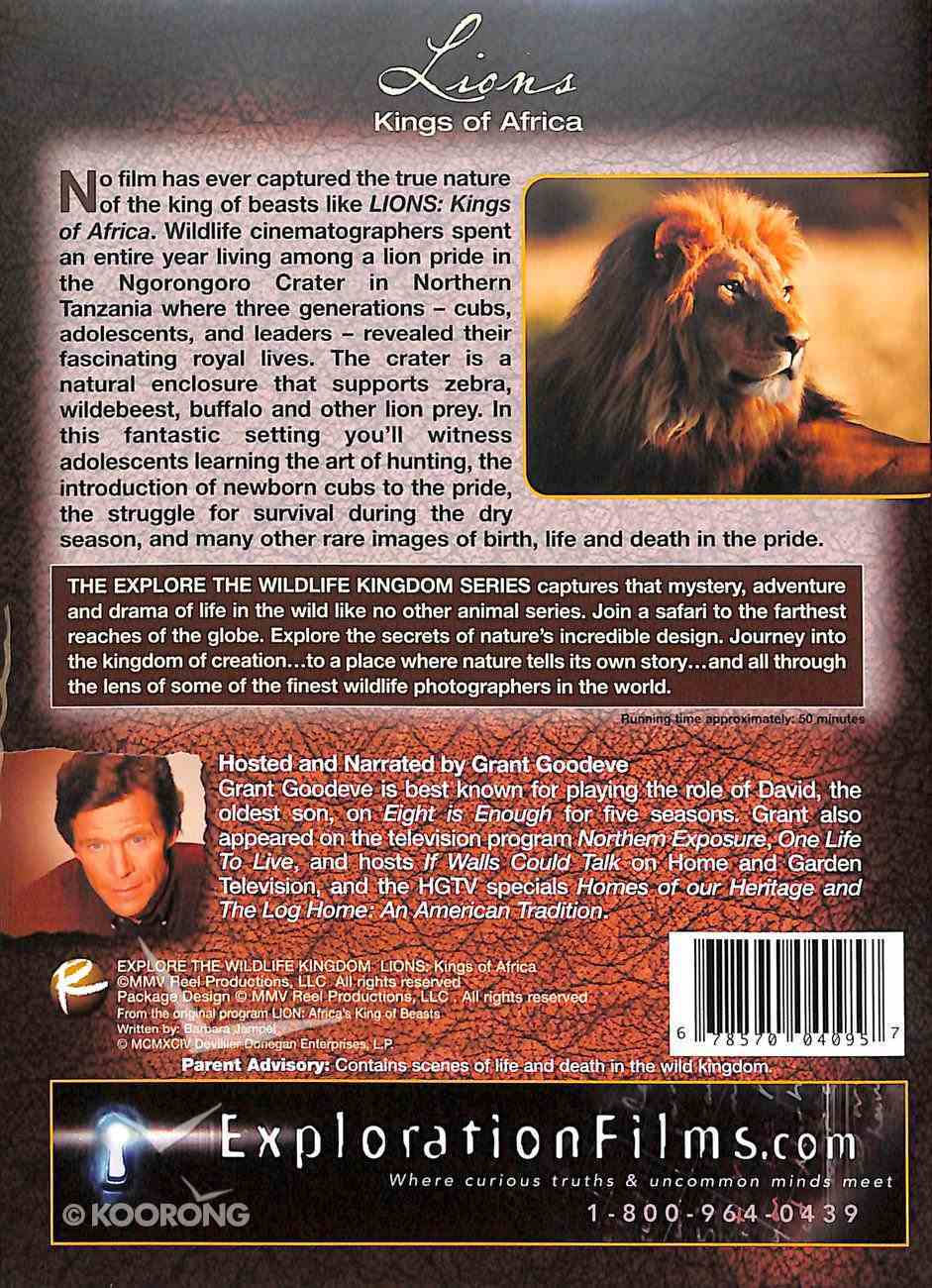Lions - Kings of Africa (Explore The Wildlife Kingdom Dvd Series) DVD