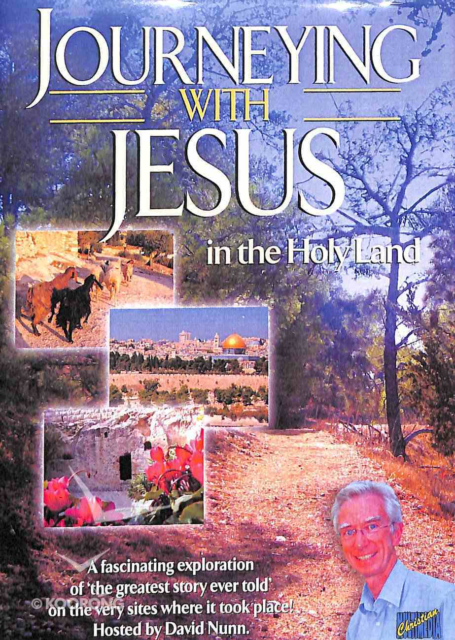 Journeying With Jesus in the Holy Land DVD