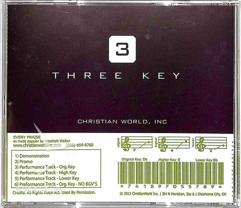 Every Praise (Accompaniment) CD