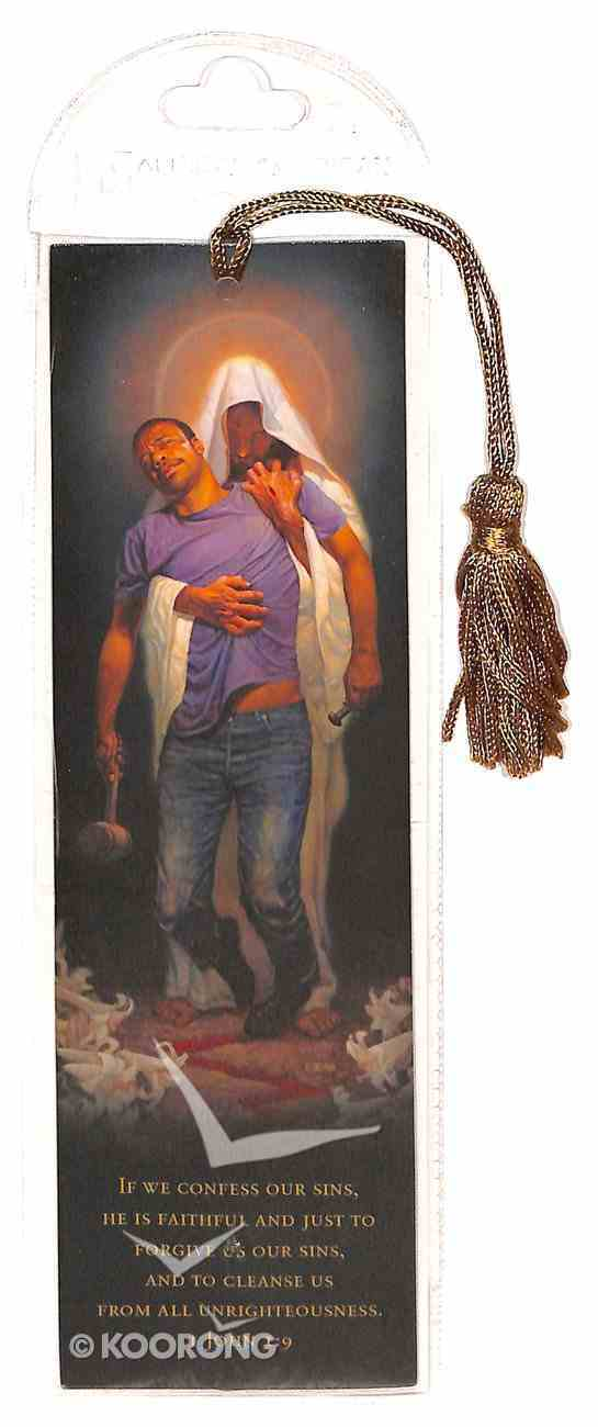 Bookmark With Tassel: Forgiven, If We Confess Our Sins, 1 John 1:91 Stationery