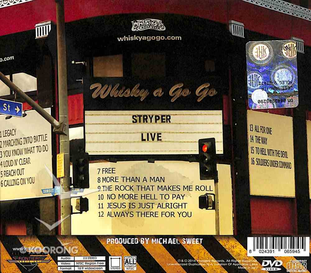 Live At the Whisky CD