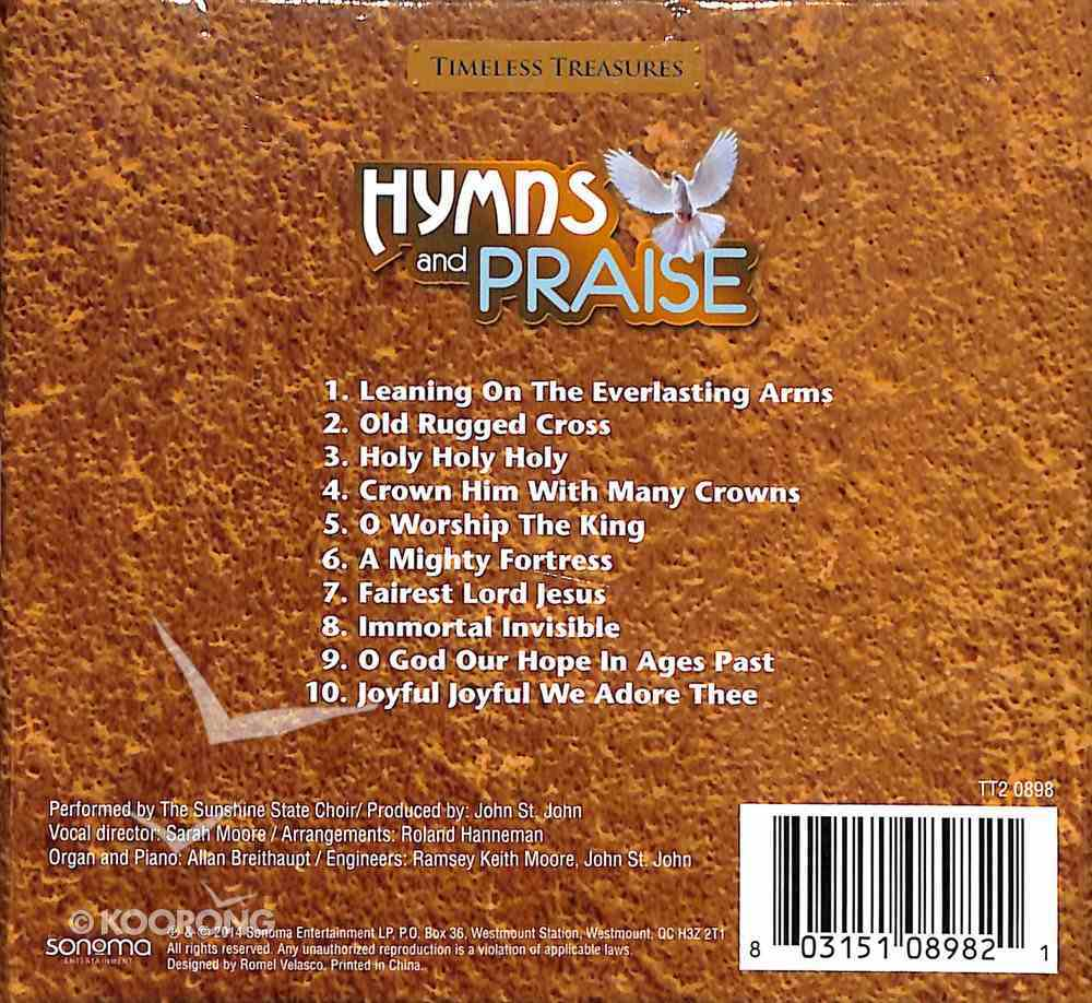 Timeless Treasures: Hymns and Praise CD