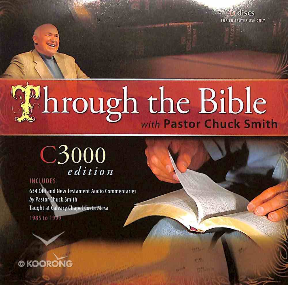 Through the Bible MP3 C-3000 Edition (Dvd-rom) Dvd-rom