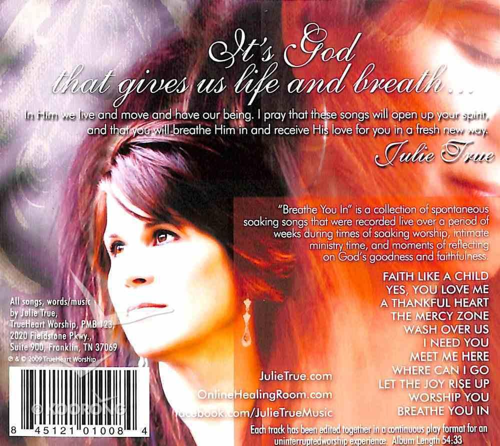 Breathe You in CD