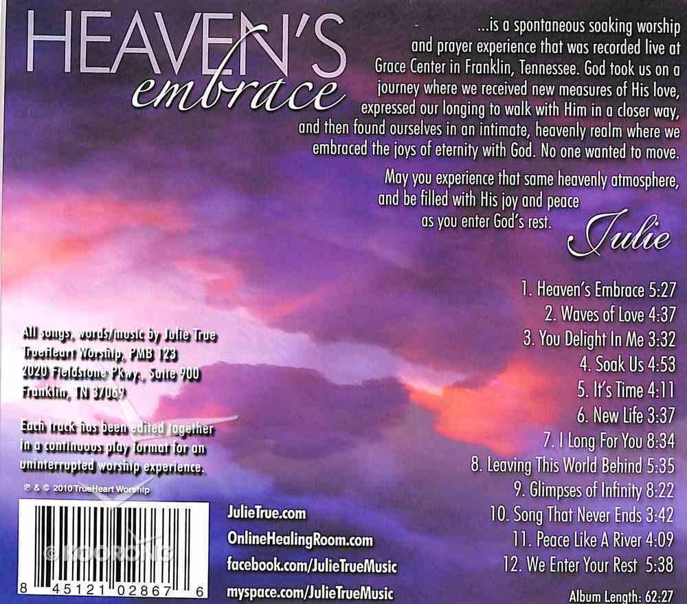 Heaven's Embrace (Soaking Music Series) CD