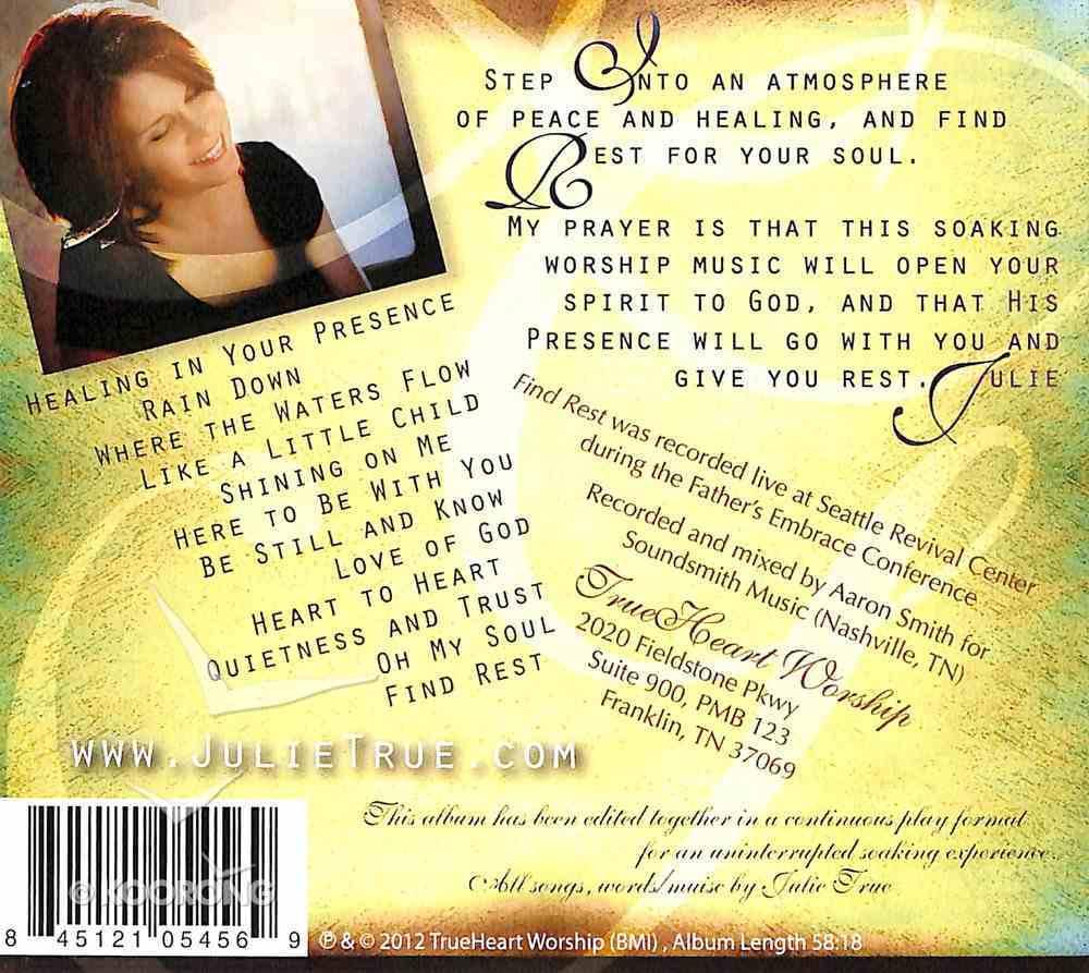Find Rest (Soaking Music Series) CD