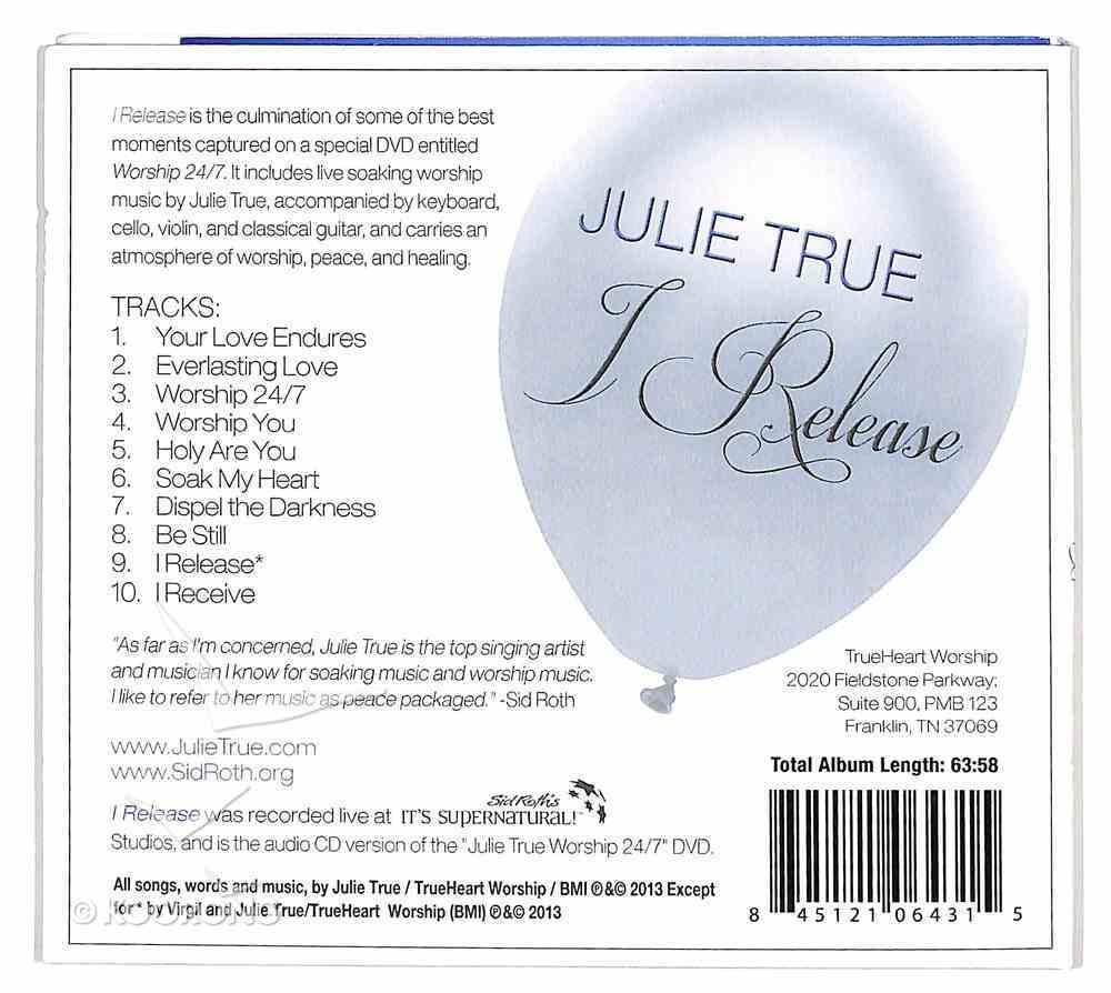 I Release (Soaking Music Series) CD