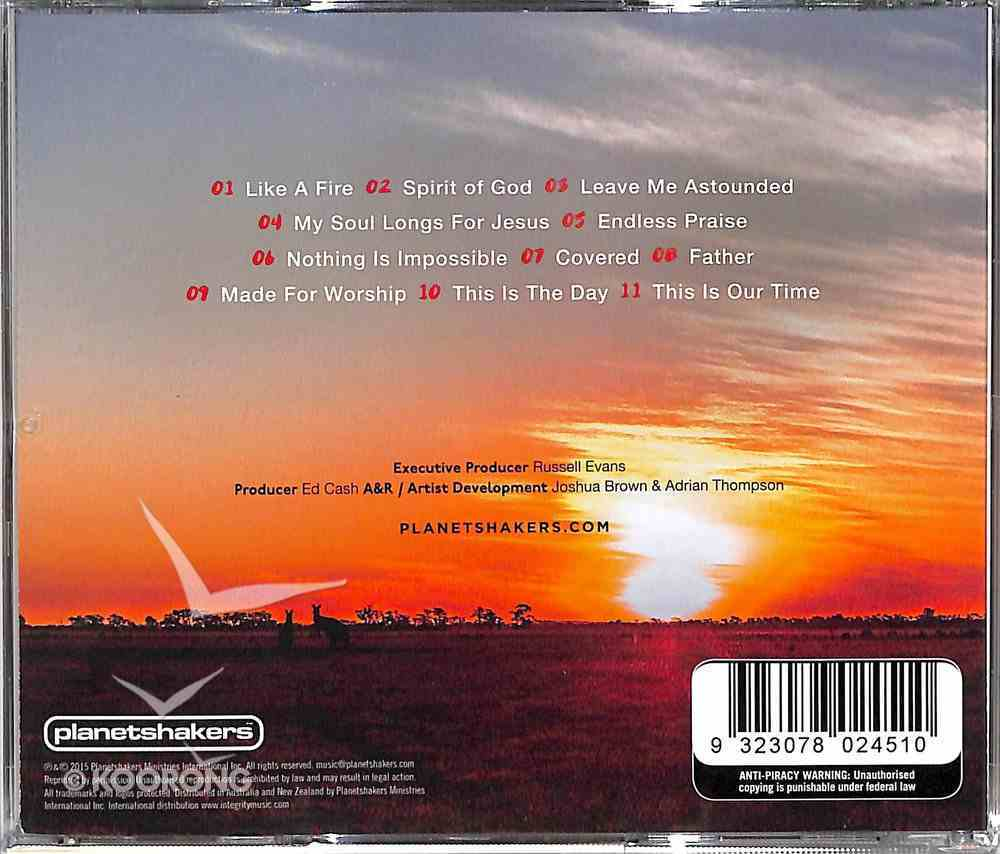 2015 Outback Worship Sessions CD