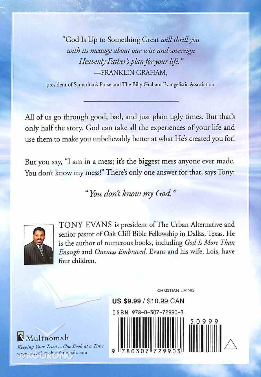 God is Up to Something Great Paperback