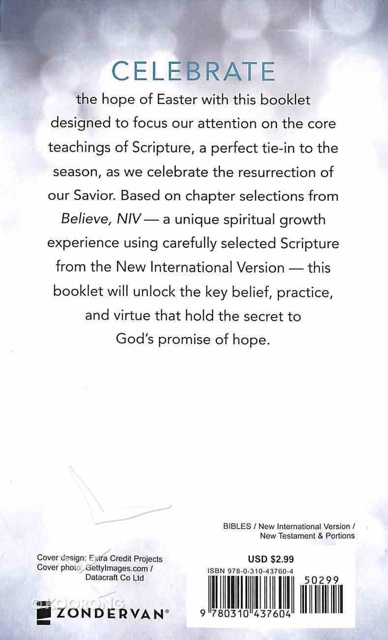 Believe: The Hope of Easter (NIV) (Believe (Zondervan) Series) Booklet