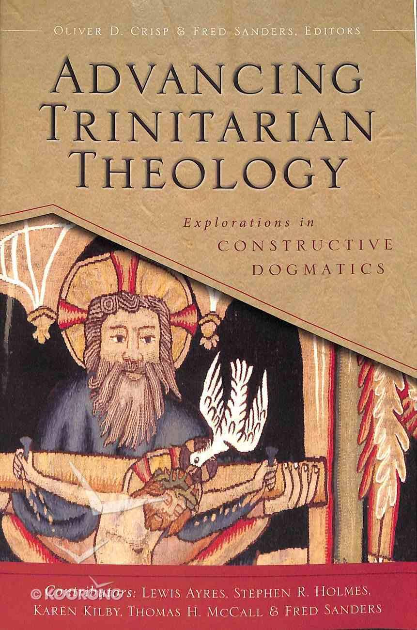 Advancing Trinitarian Theology Paperback