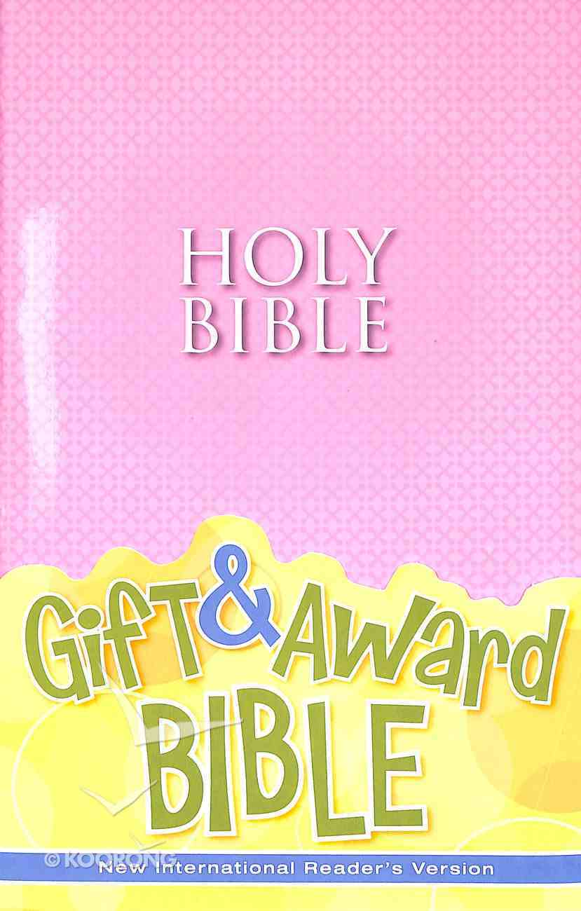 NIRV Gift and Award Bible Pink (Black Letter Edition) Paperback