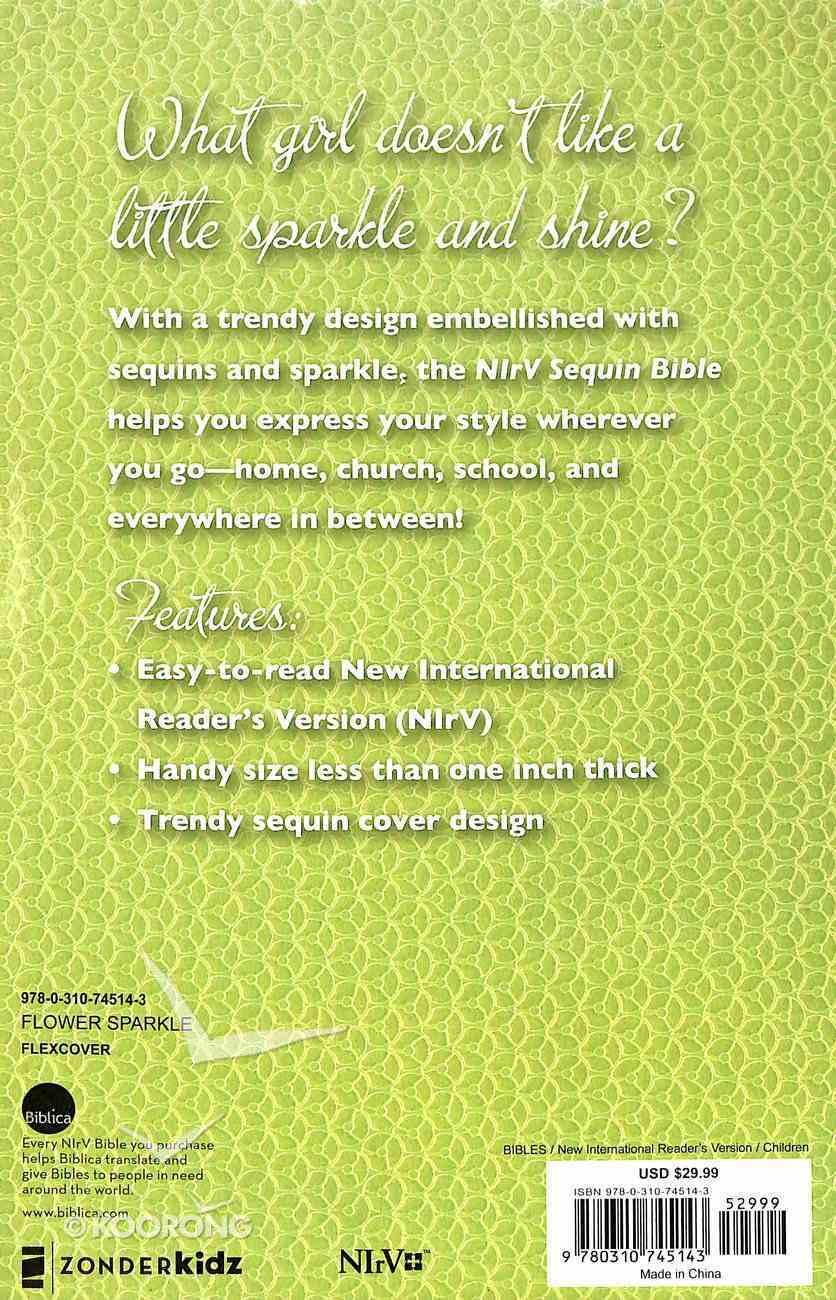 NIRV Sequin Bible (Black Letter Edition) Flexi Back